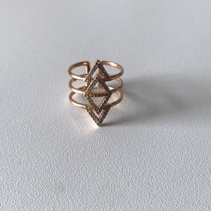 Stella & Dot Triangle Ring